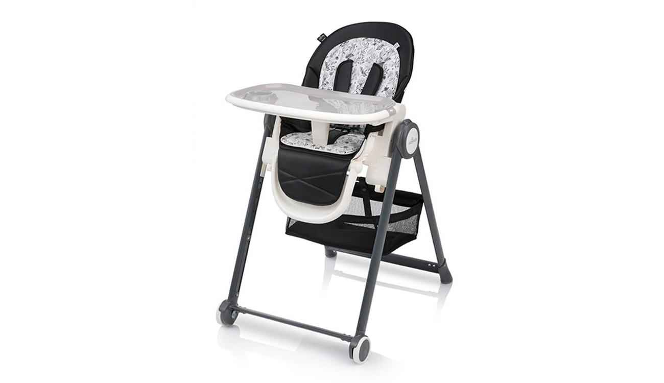 Krzesełko do karmienia Baby Design Penne Black
