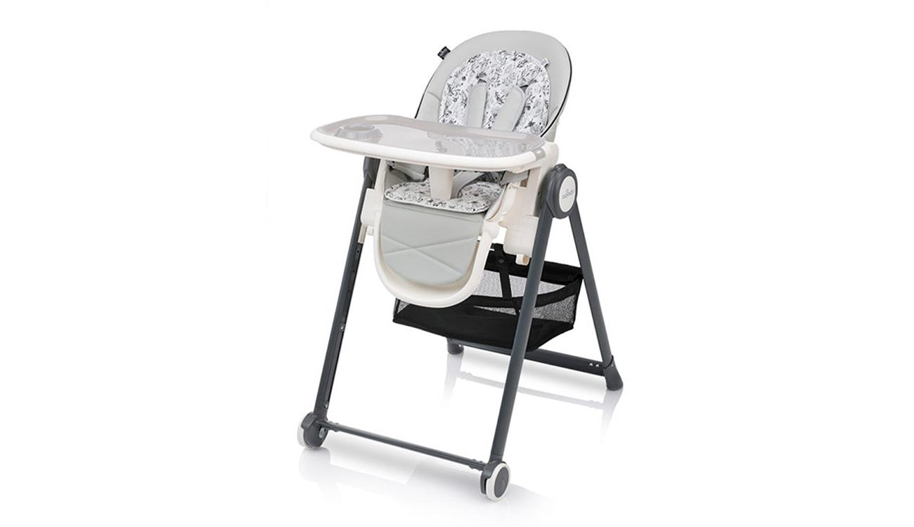 Krzesełko do karmienia Baby Design Penne Gray