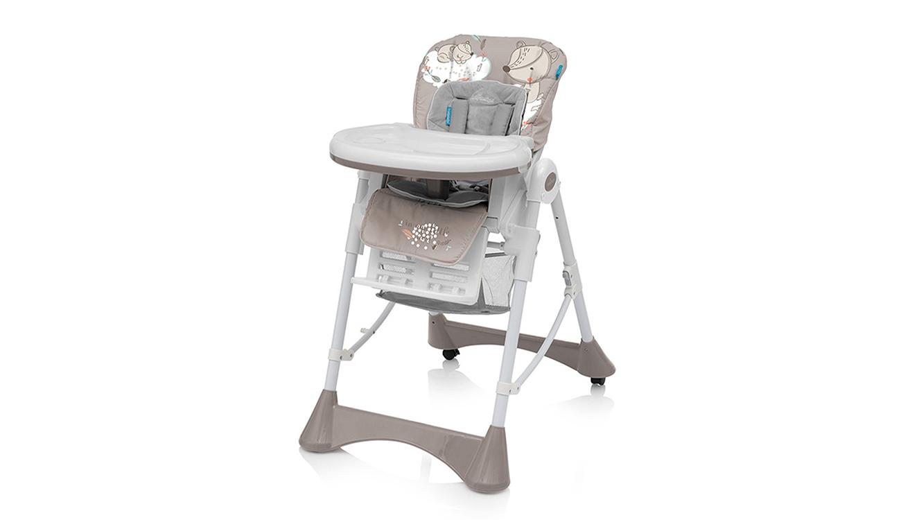 Krzesełko do karmienia Baby Design Pepe Beige