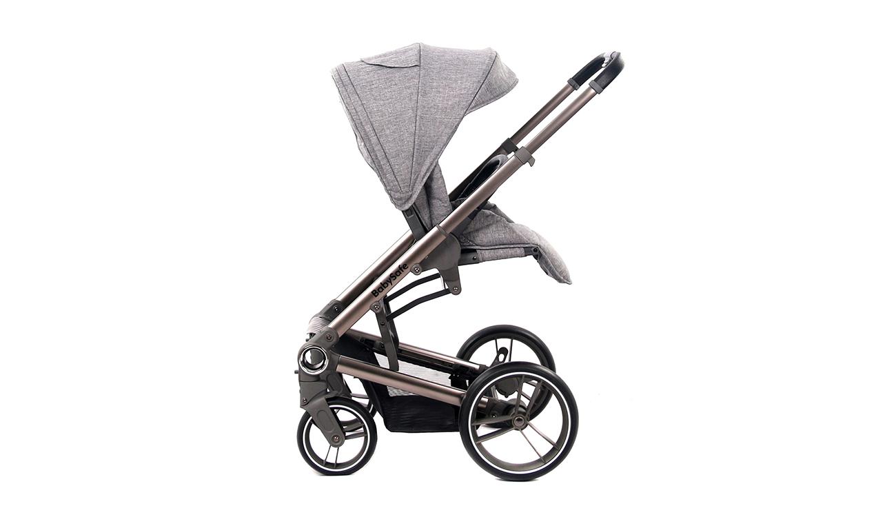 Wózek wielofunkcyjny BabySafe Lucky Grey