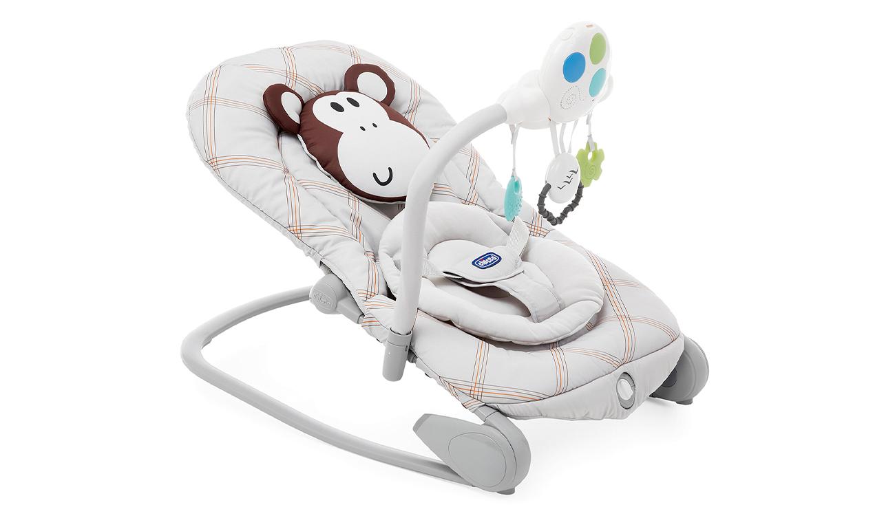 Leżaczek Chicco Balloon Monkey