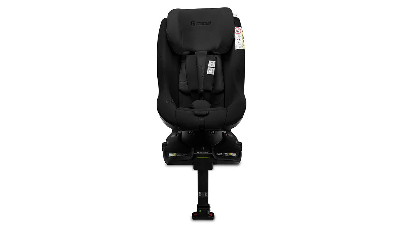 Bezpieczeństwo w foteliku samochodowym 0-18 kg Concord Balance i-Size Shadow Black