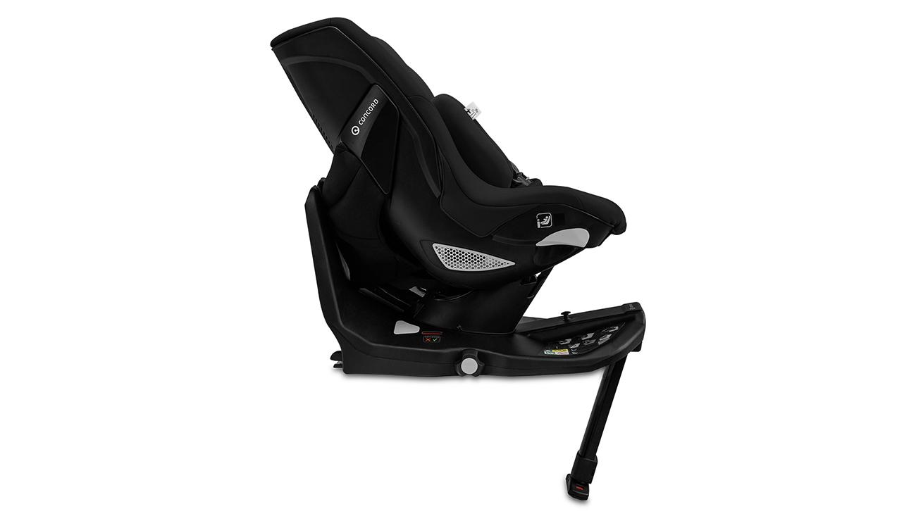 Noga stabilizująca fotelika samochodowego 0-18 kg Concord Balance i-Size Shadow Black