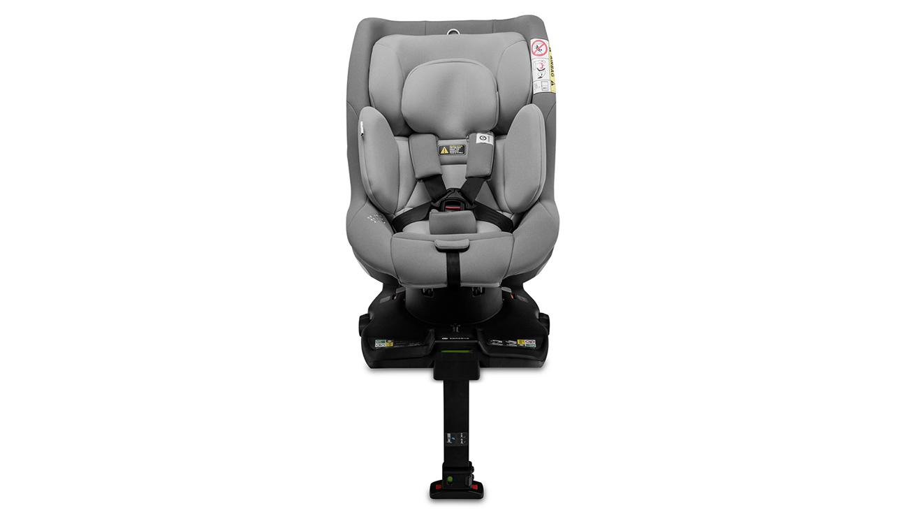 Komfortowe użytkowanie fotelika samochodowego 0-18 kg Concord Balance i-Size Moonshine Grey