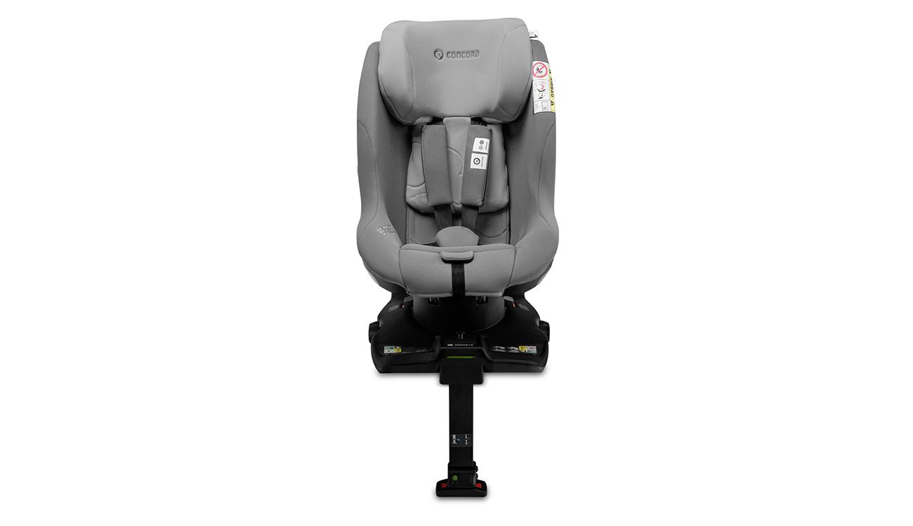 Pasy bezpieczeństwa w foteliku samochodowym 0-18 kg Concord Balance i-Size Moonshine Grey