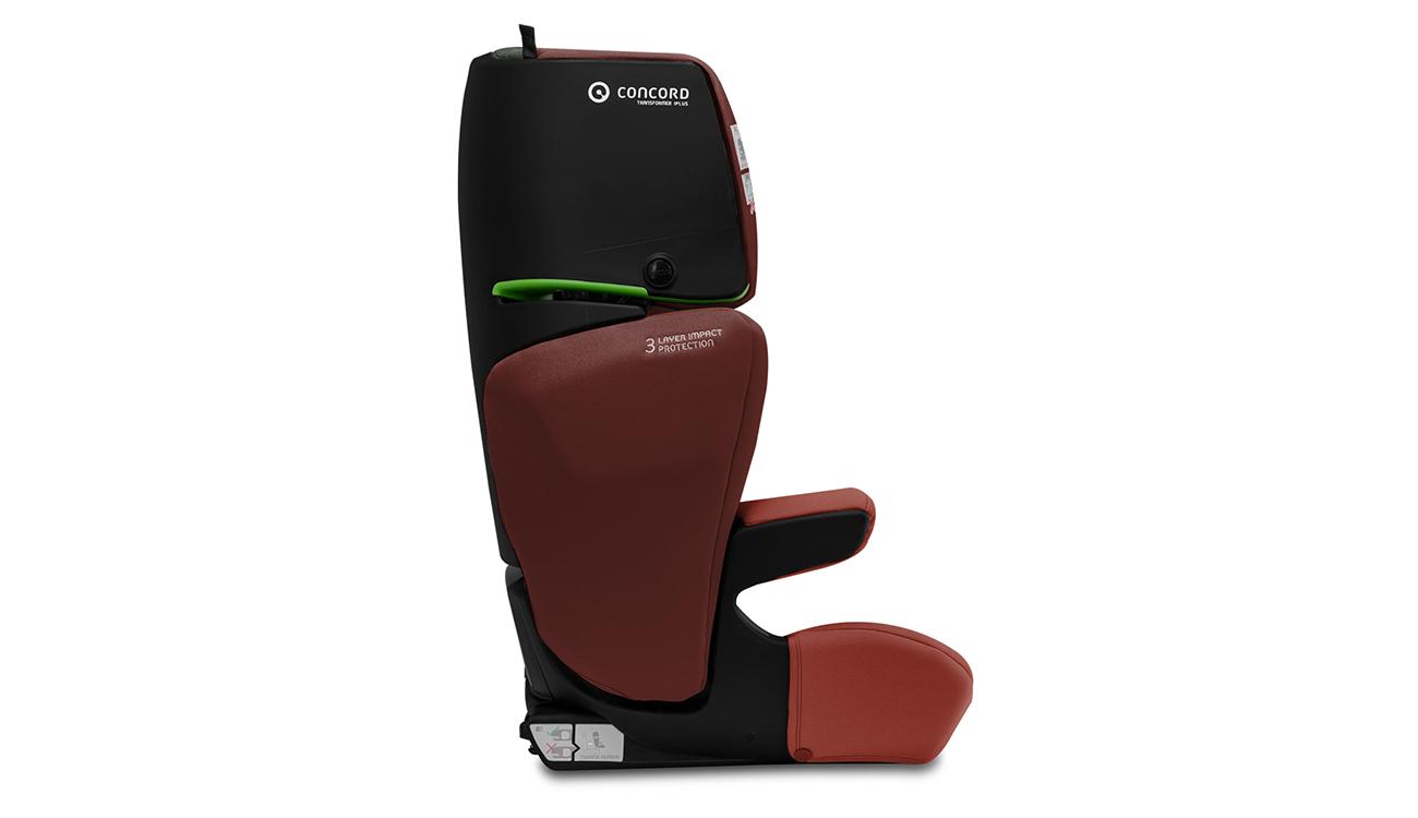 Montaż fotelika samochodowego 15-36 kg Concord Transformer iPlus i-Size Grape Red