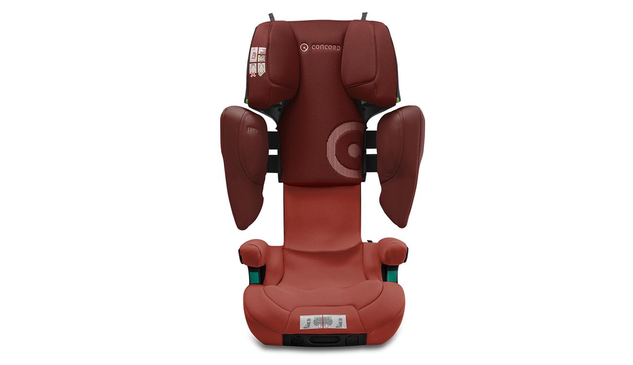 Regulacja fotelika samochodowego 15-36 kg Concord Transformer iPlus i-Size Grape Red