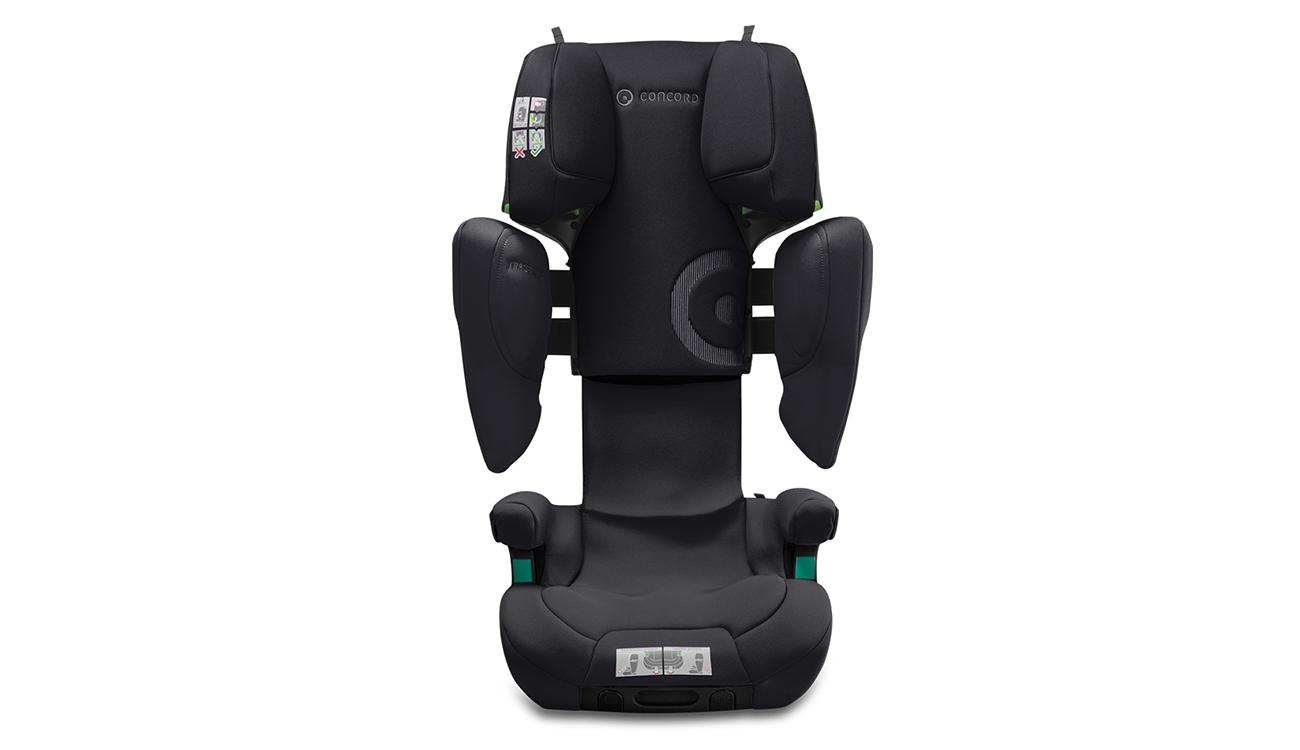 Montaż fotelika samochodowego 15-36 kg Concord Transformer iPlus i-Size Soft Black