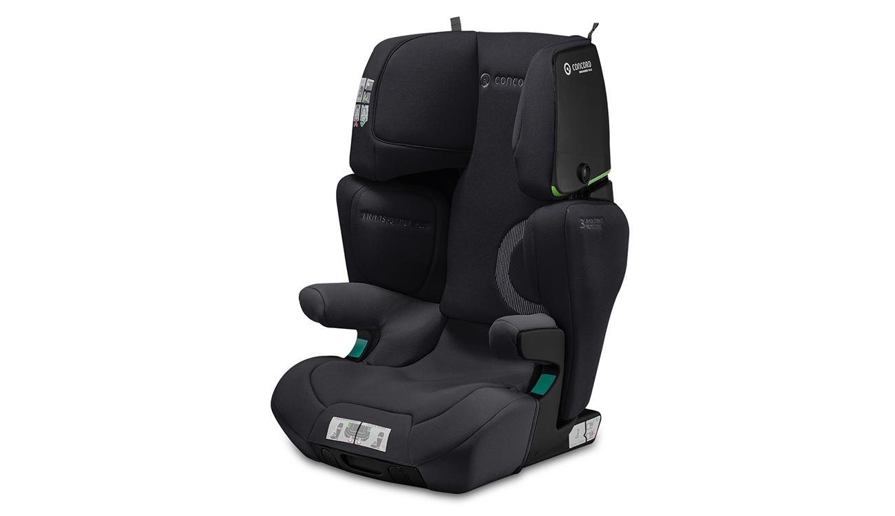 Regulacja fotelika samochodowego 15-36 kg Concord Transformer iPlus i-Size Soft Black