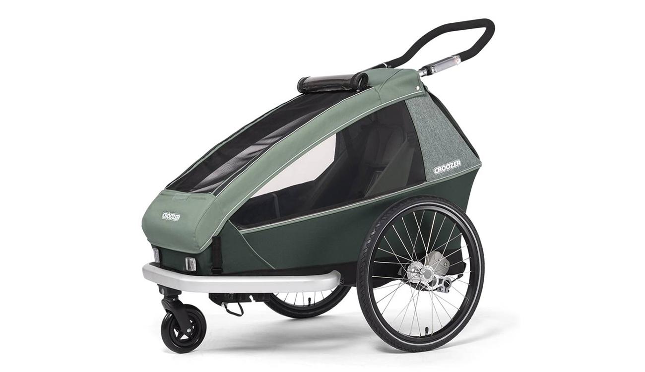 Przyczepka rowerowa Croozer Kid Vaaya 1 Jungle Green