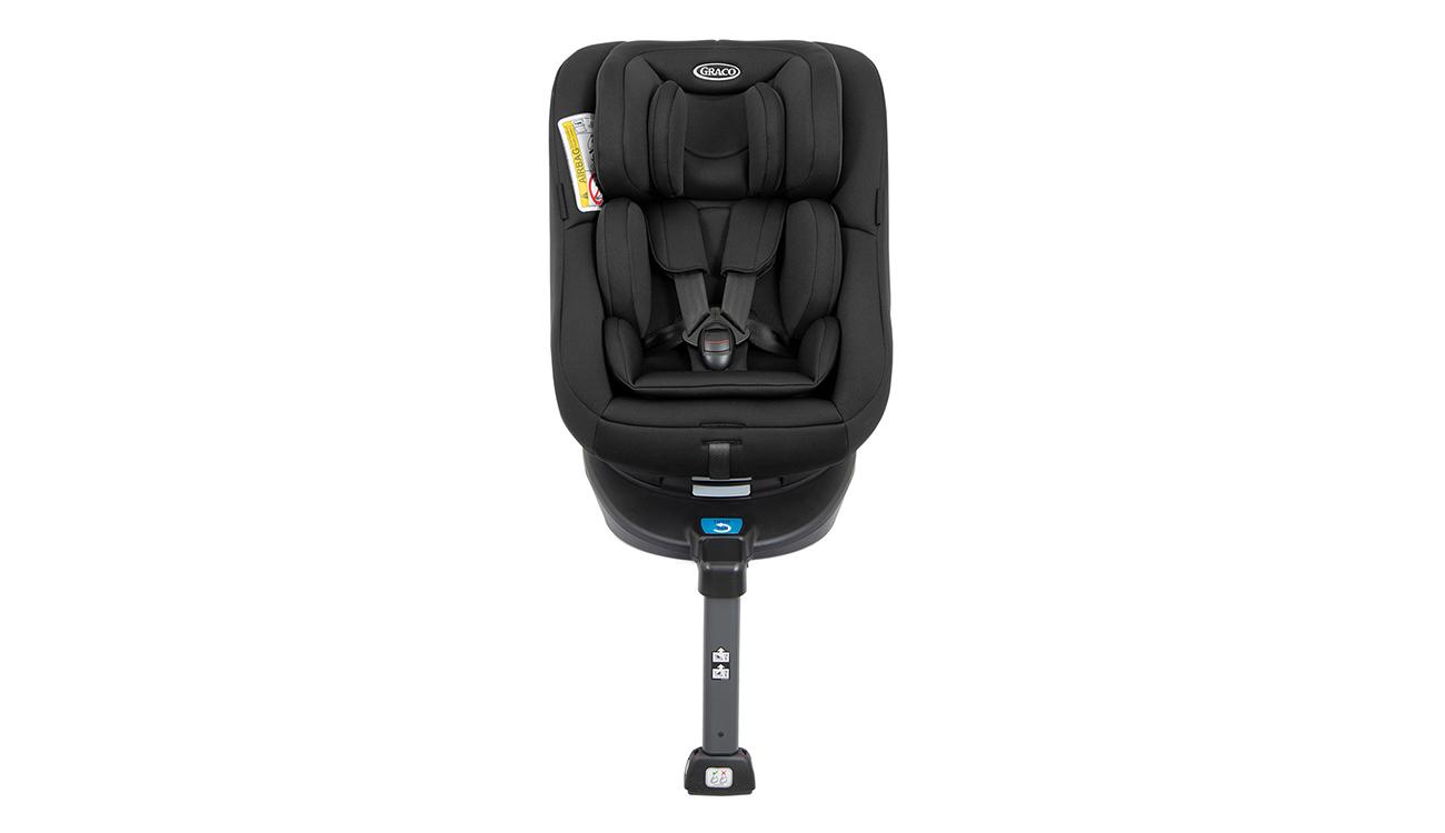 Montaż fotelika samochodowego 0-18 kg Graco Turn2Me Black