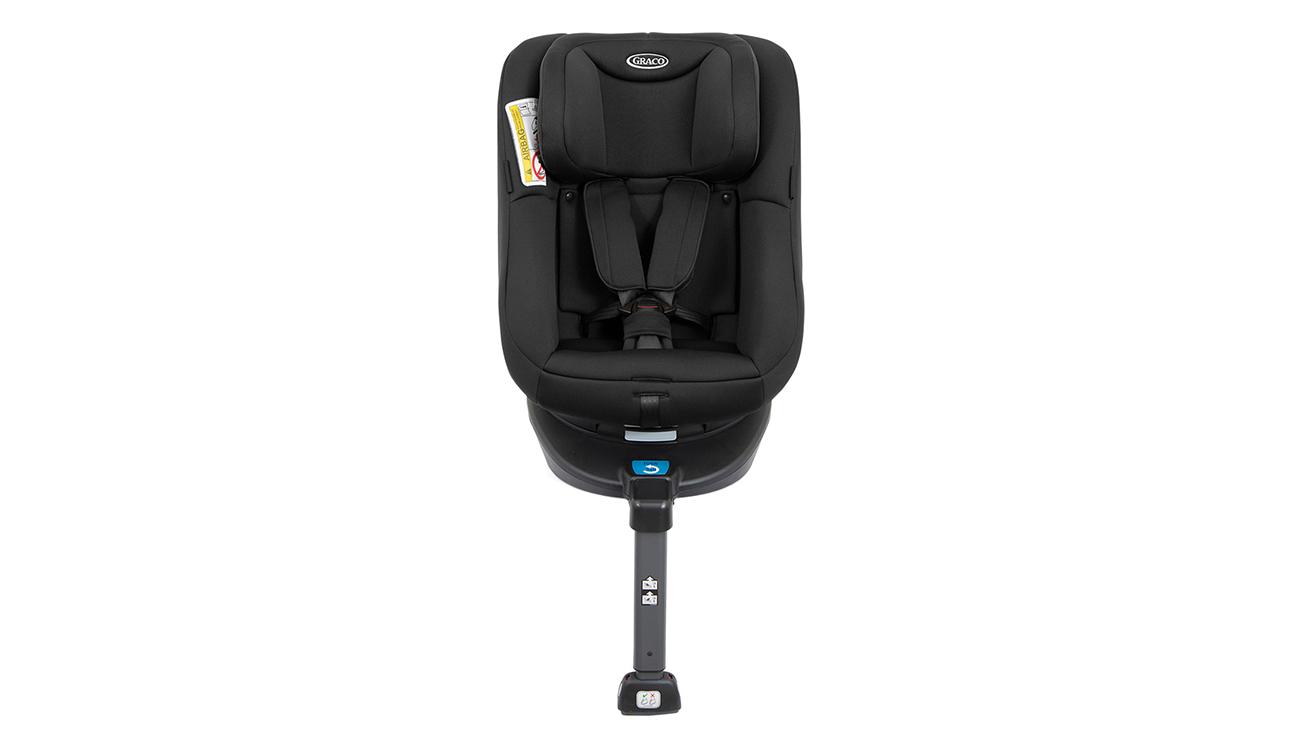 Czyszczenie fotelika samochodowego 0-18 kg Graco Turn2Me Black