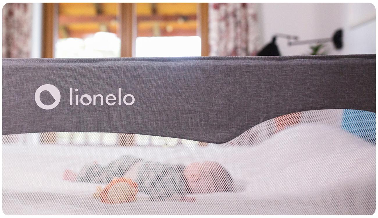 Barierka do łóżka Lionelo Hanna