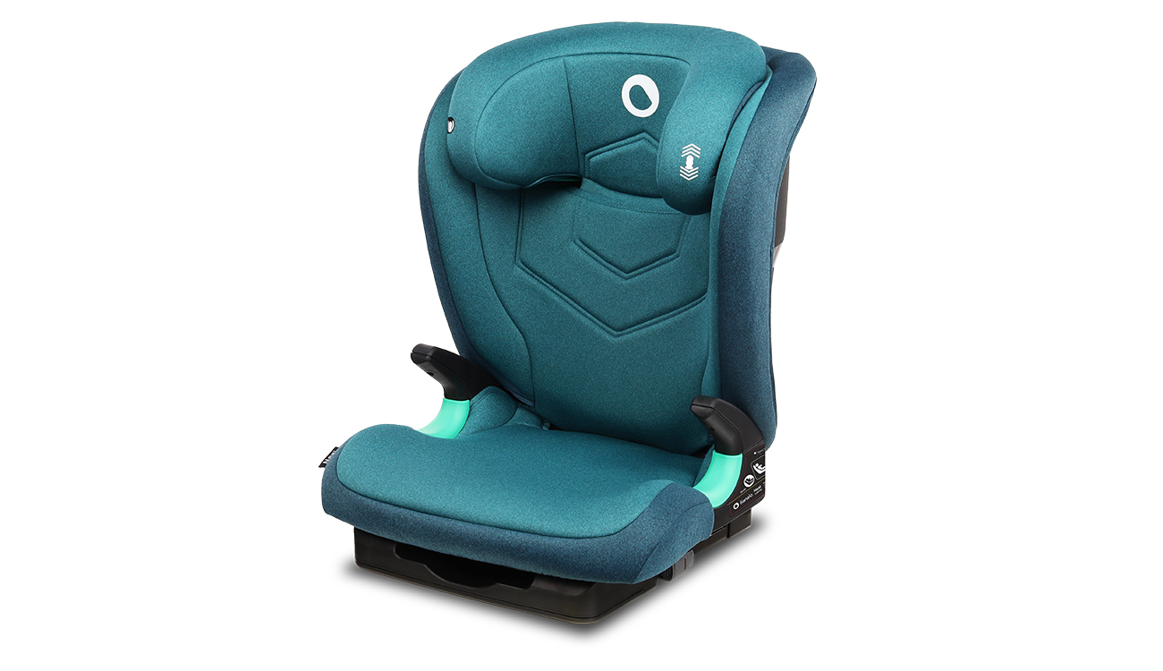 Fotelik samochodowy 15-36kg Lionelo Neal I-Size Green Turquoise