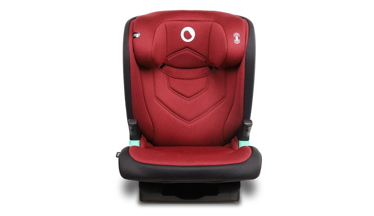 Fotelik samochodowy 15-36kg Lionelo Neal I-Size Red Burgundy