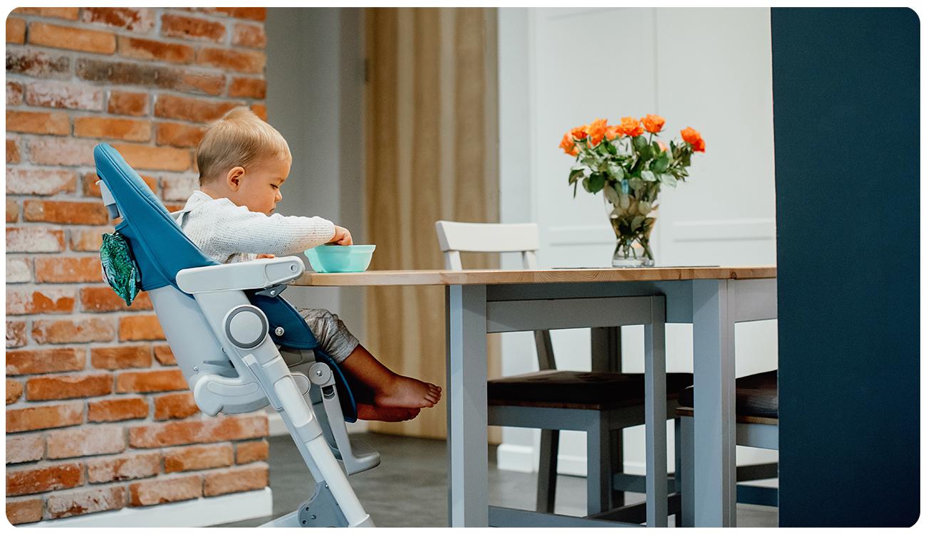 Krzesełko do karmienia Lionelo Cora Ocean