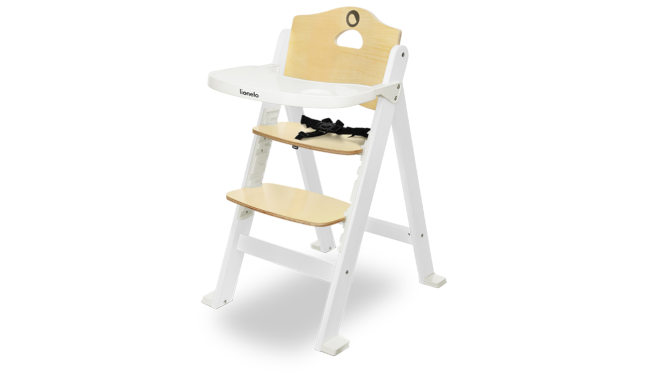 Krzesełko do karmienia Lionelo Floris White