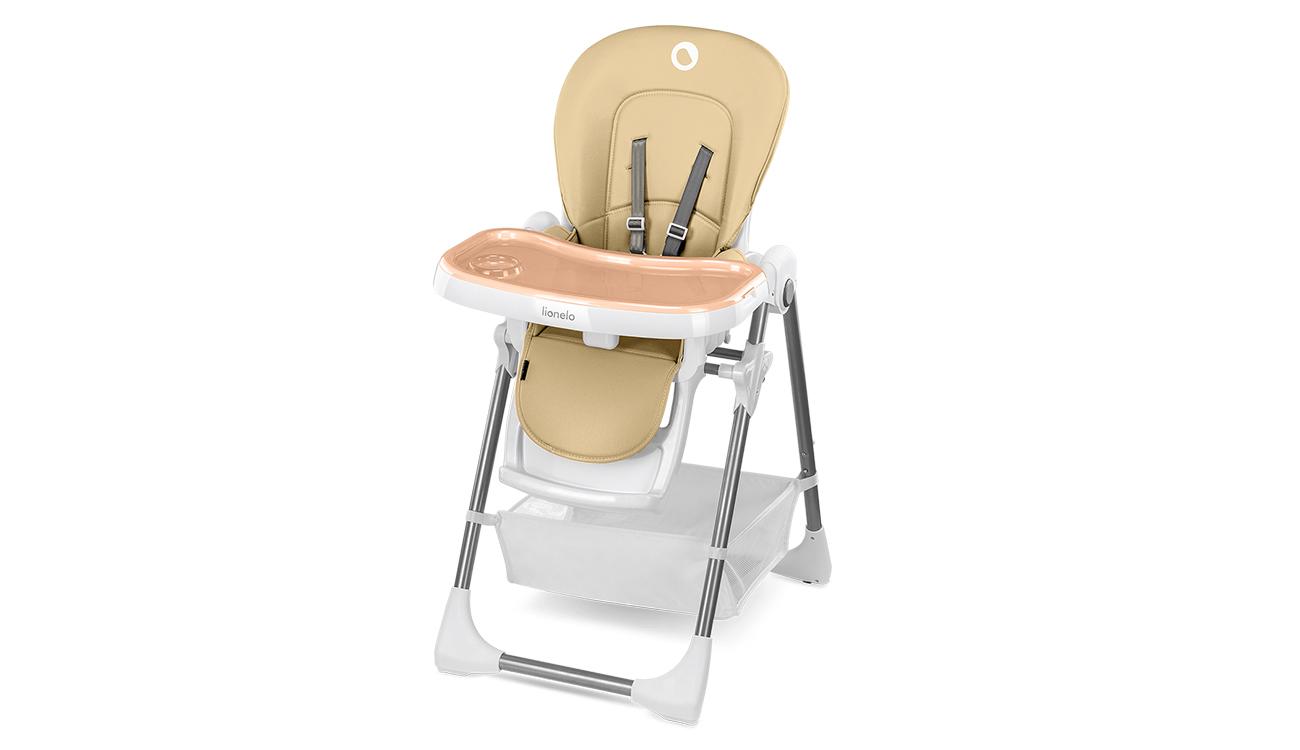 Krzesełko do karmienia Lionelo Linn Plus Beige