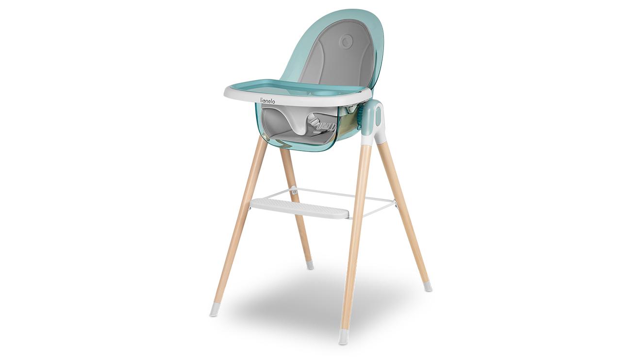 Krzesełko do karmienia Lionelo Maya Green Turquoise