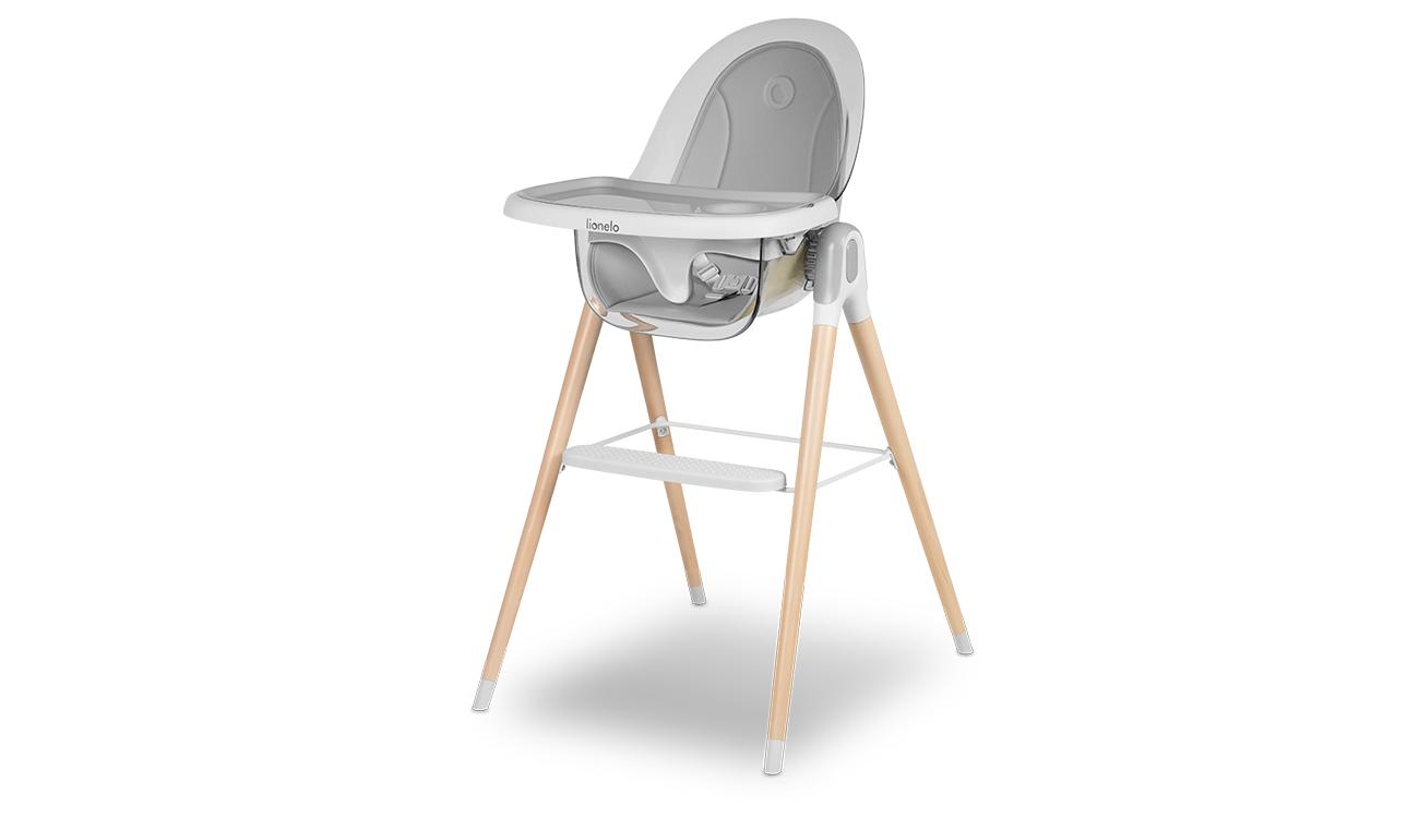 Krzesełko do karmienia Lionelo Maya White