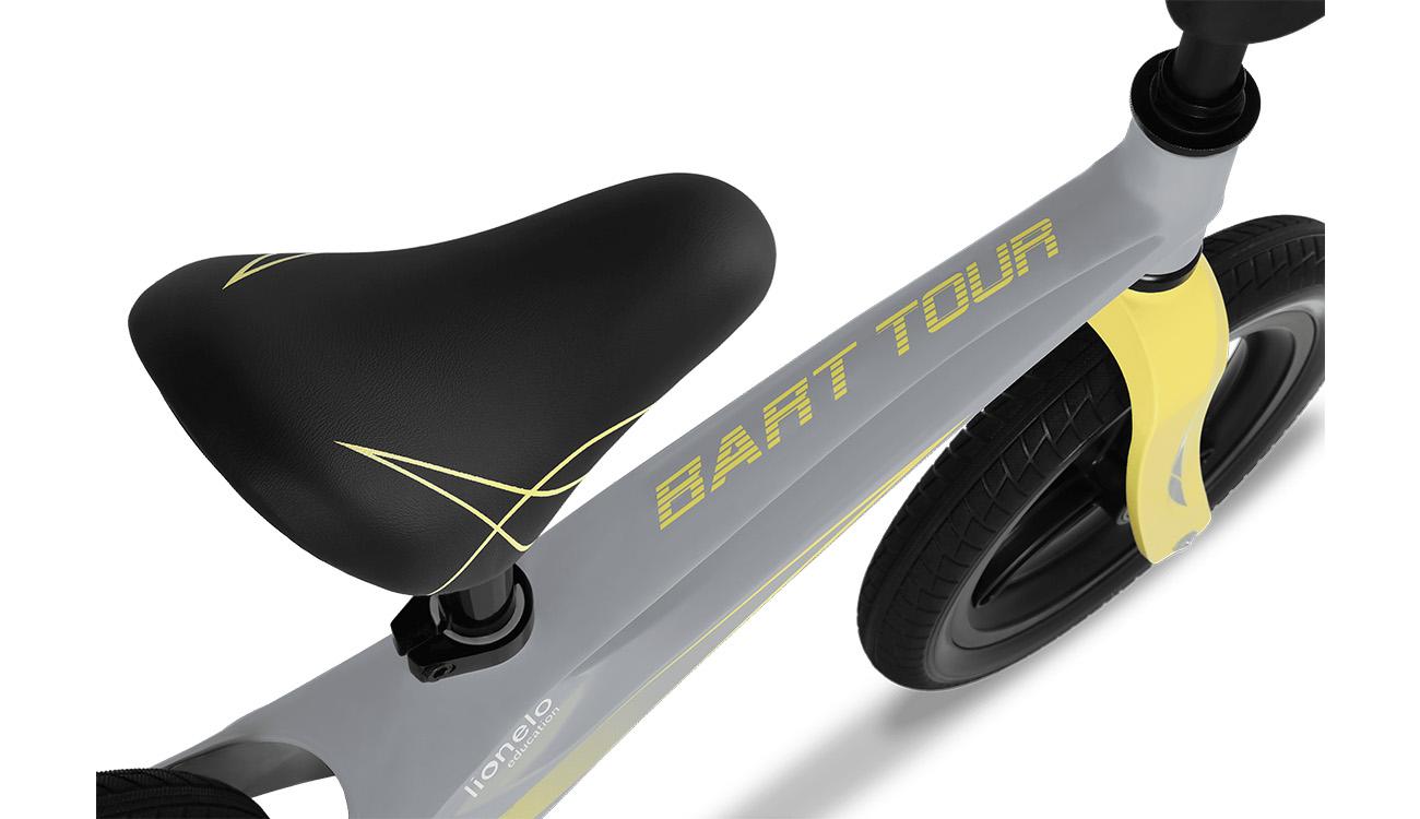 Rowerek biegowy magnezowy Lionelo Bart Tour Grey Stone