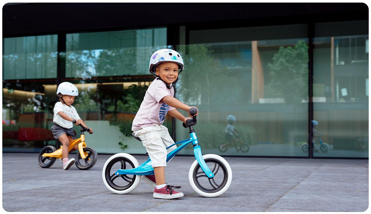 Rowerek biegowy Lionelo Bart Bubblegum