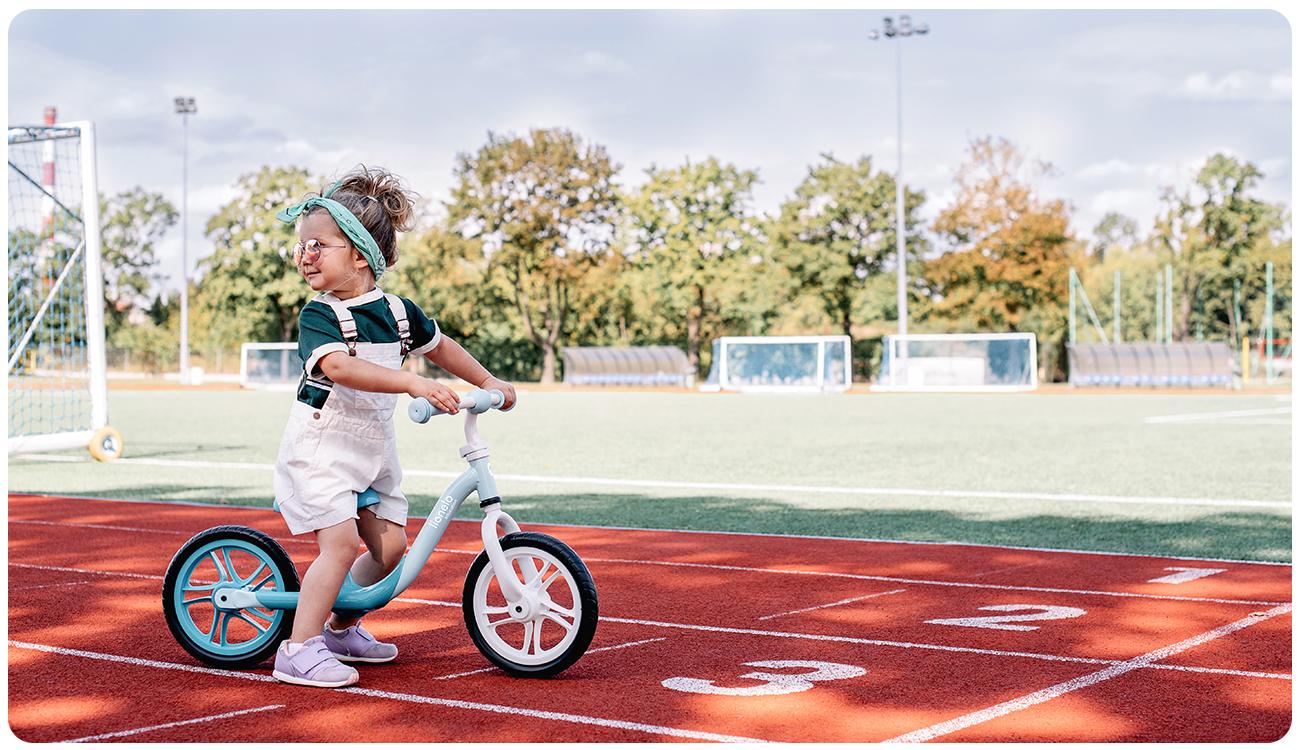 Rowerek biegowy Lionelo Alex Bubblegum