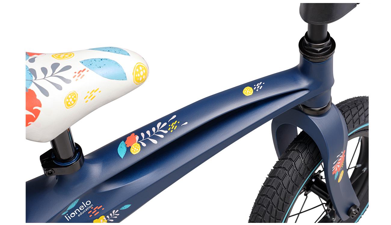 Rowerek biegowy Lionelo Bart Air Blue Navy