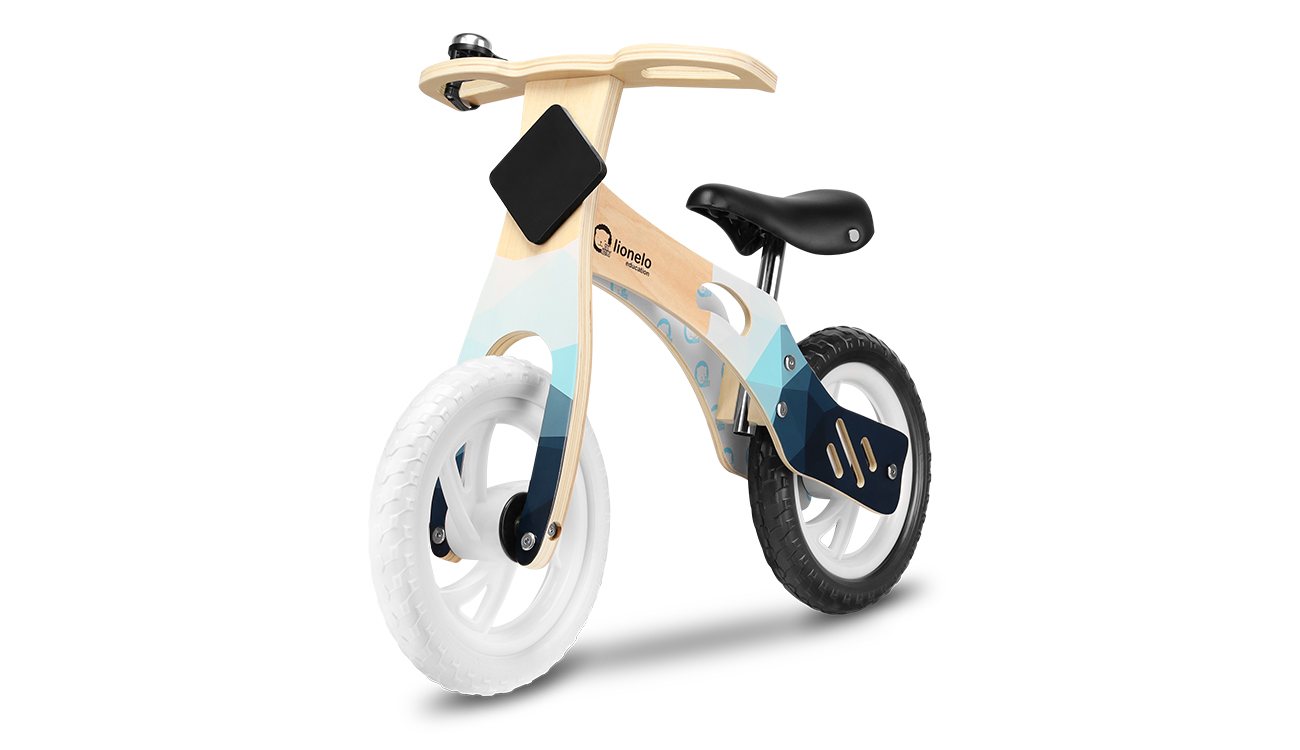 Rowerek biegowy drewniany Lionelo Willy Indygo