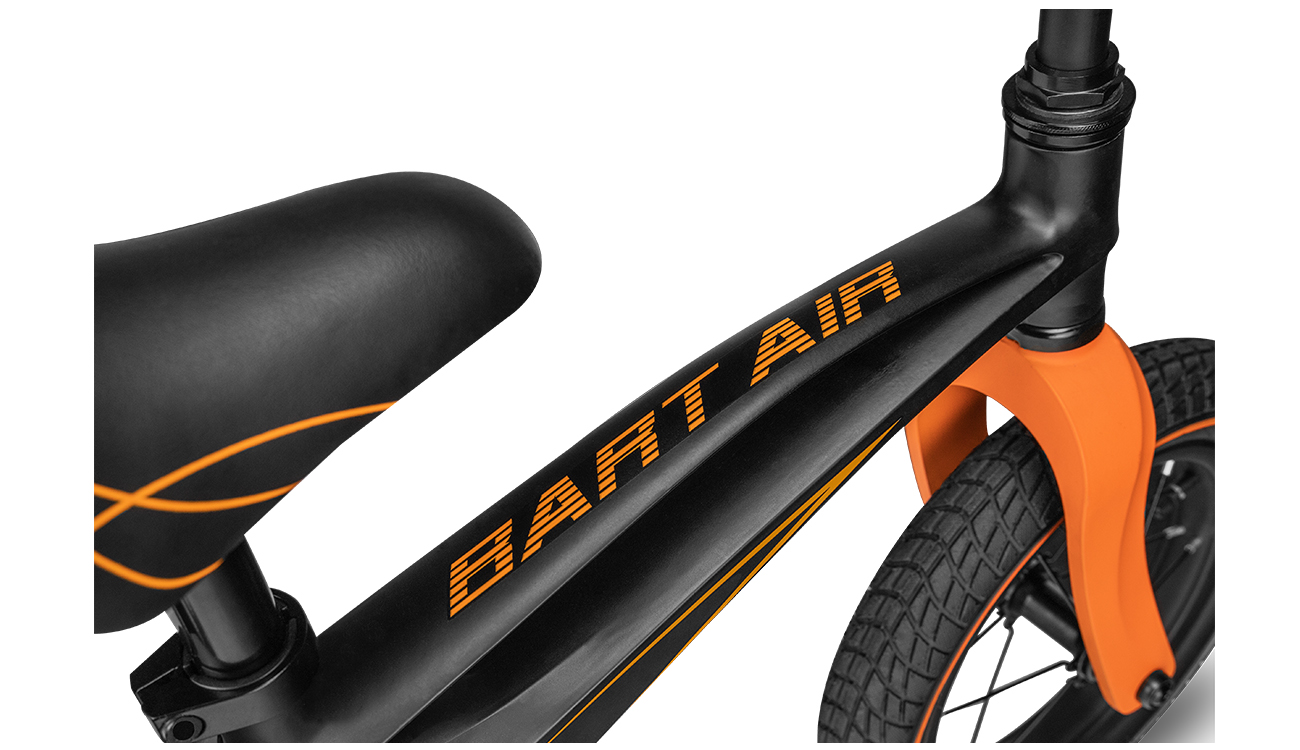 Rowerek biegowy Lionelo Bart Air Sporty Black