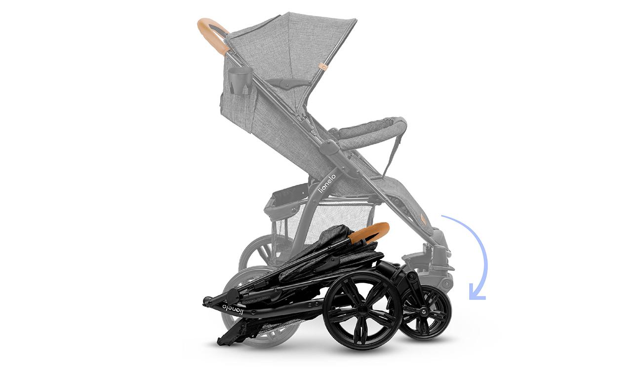 Wózek spacerowy Lionelo Annet Stone Caramel