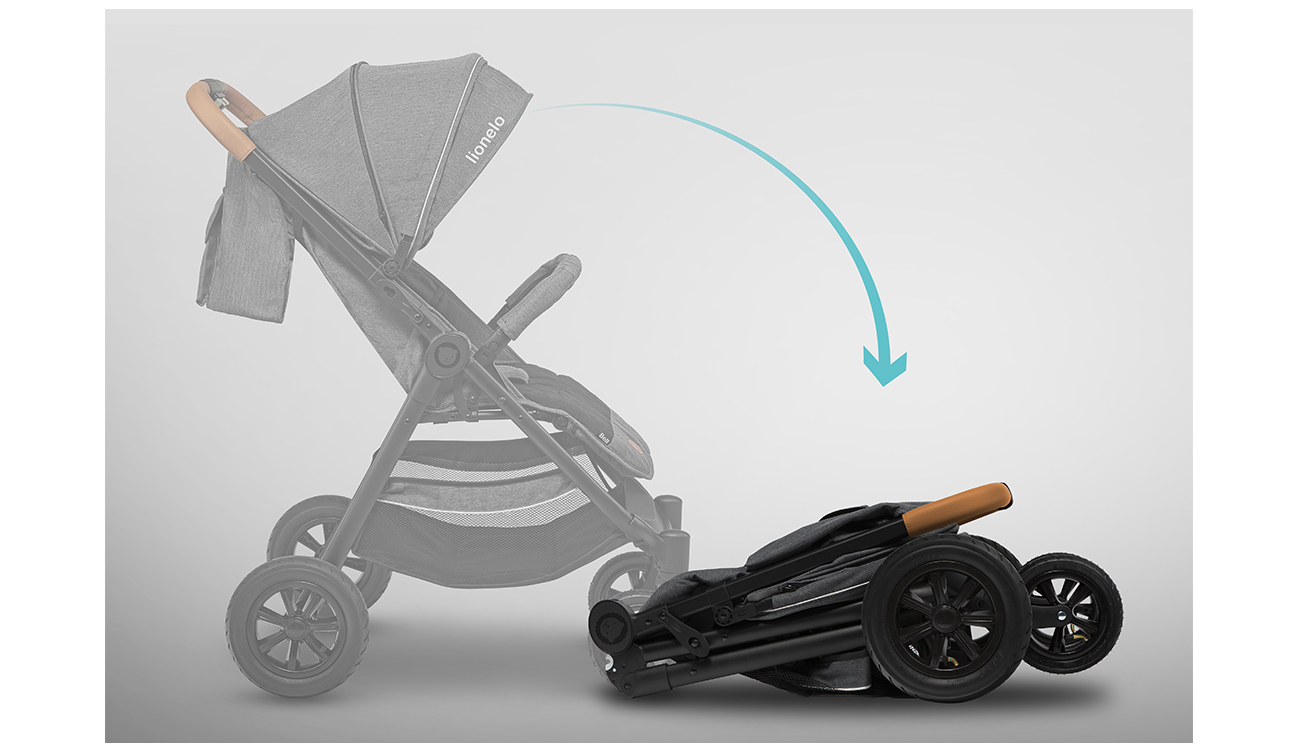 Wózek spacerowy Lionelo Bell Graphite
