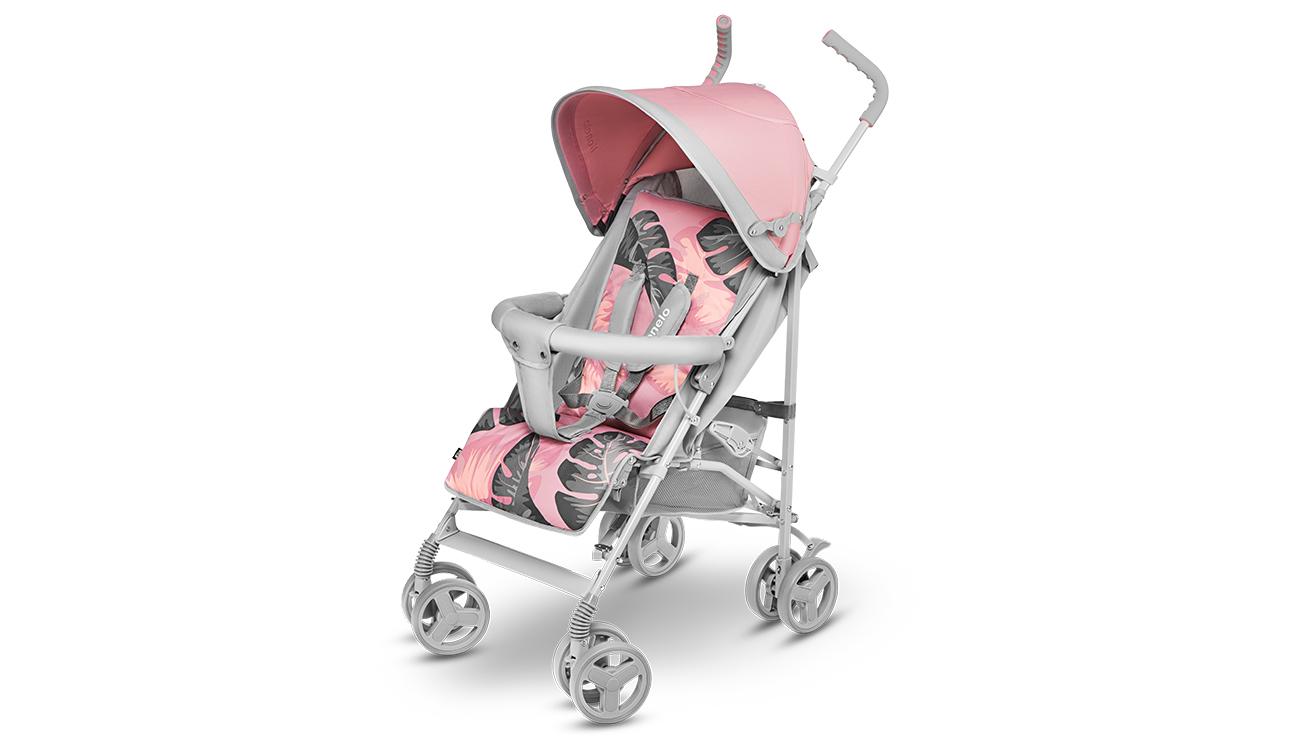 Wózek spacerowy Lionelo Elia Tropical Pink