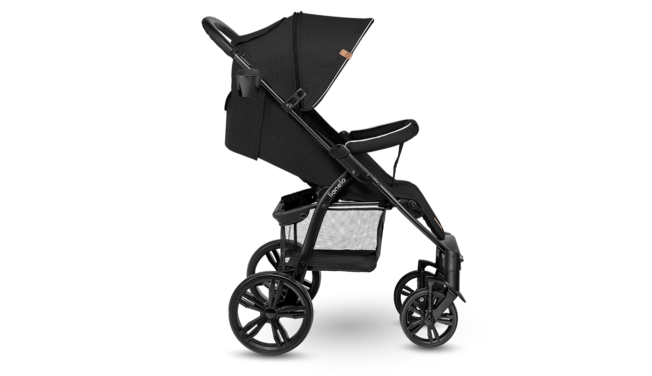 Wózek spacerowy Lionelo Annet Black Carbon