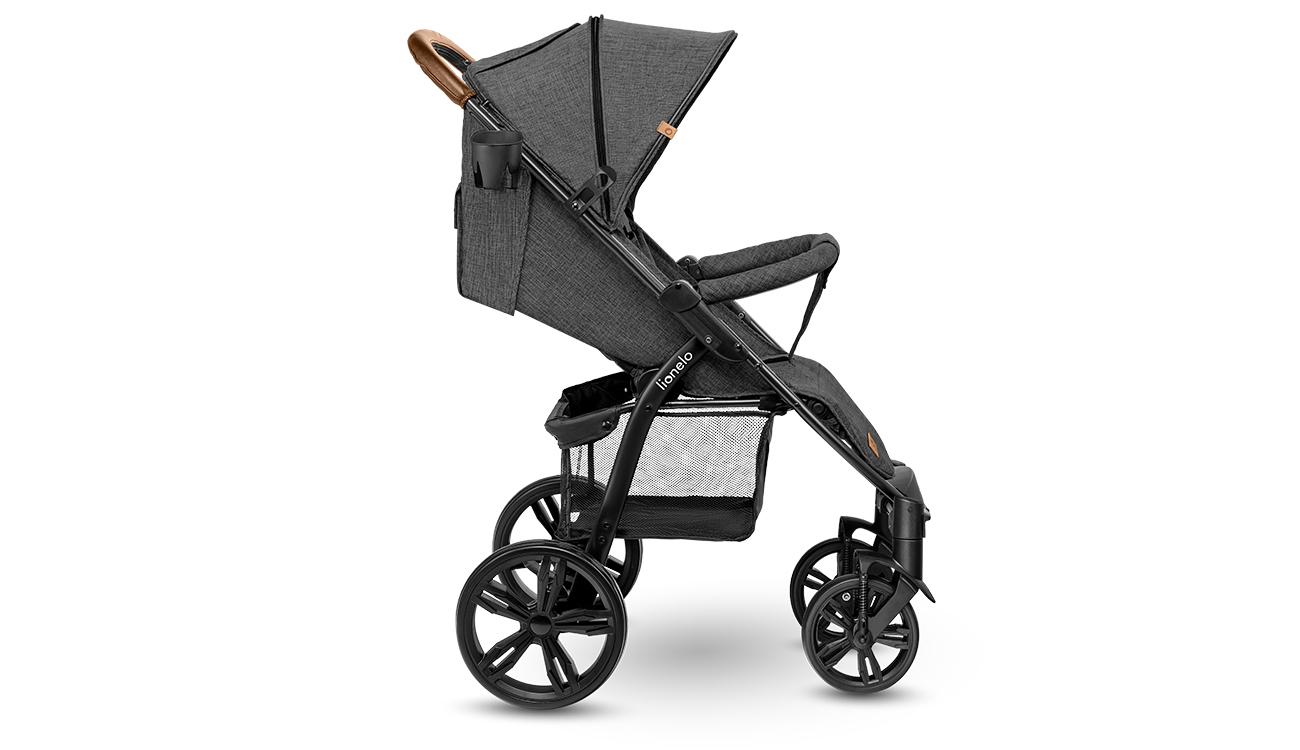 Wózek spacerowy Lionelo Annet Plus Stone Caramel