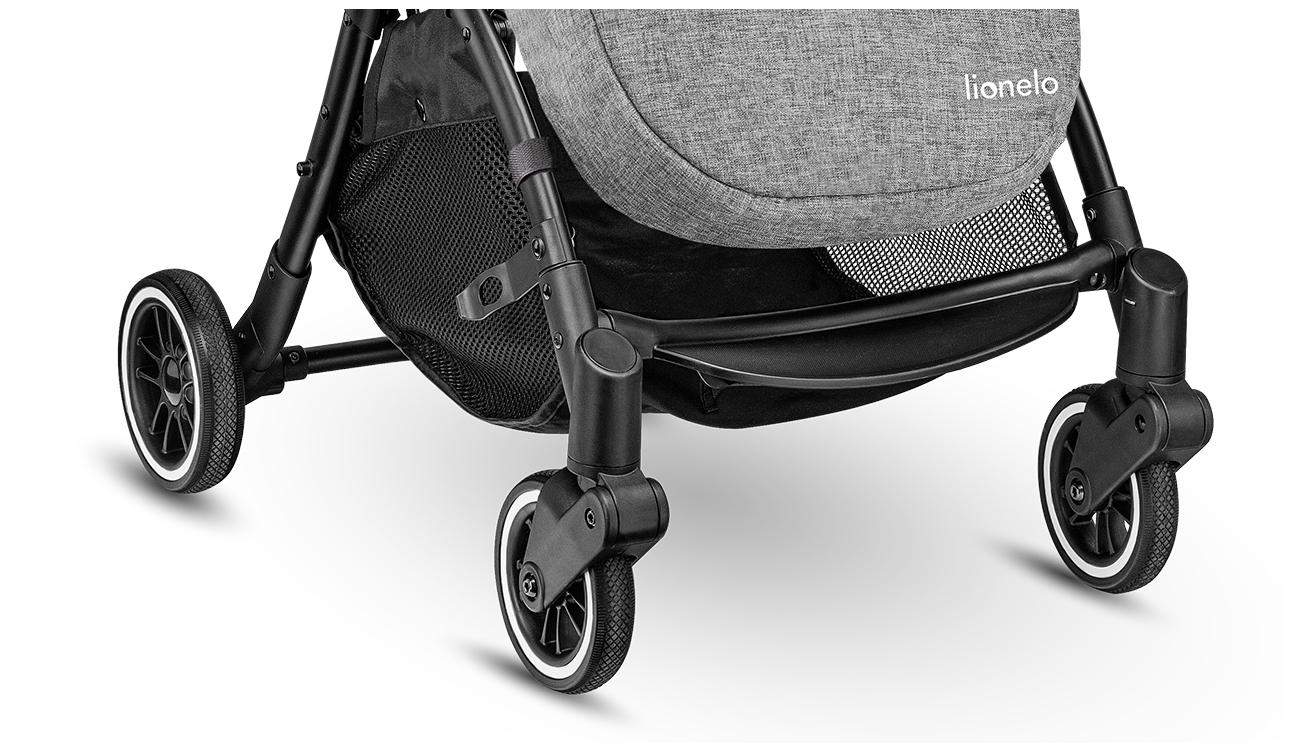 Wózek spacerowy składany Lionelo Julie One 22kg Szara