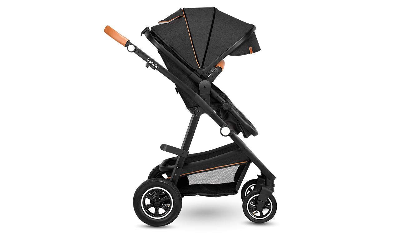 Wózek wielofunkcyjny Lionelo Amber 3w1 Grey Graphite