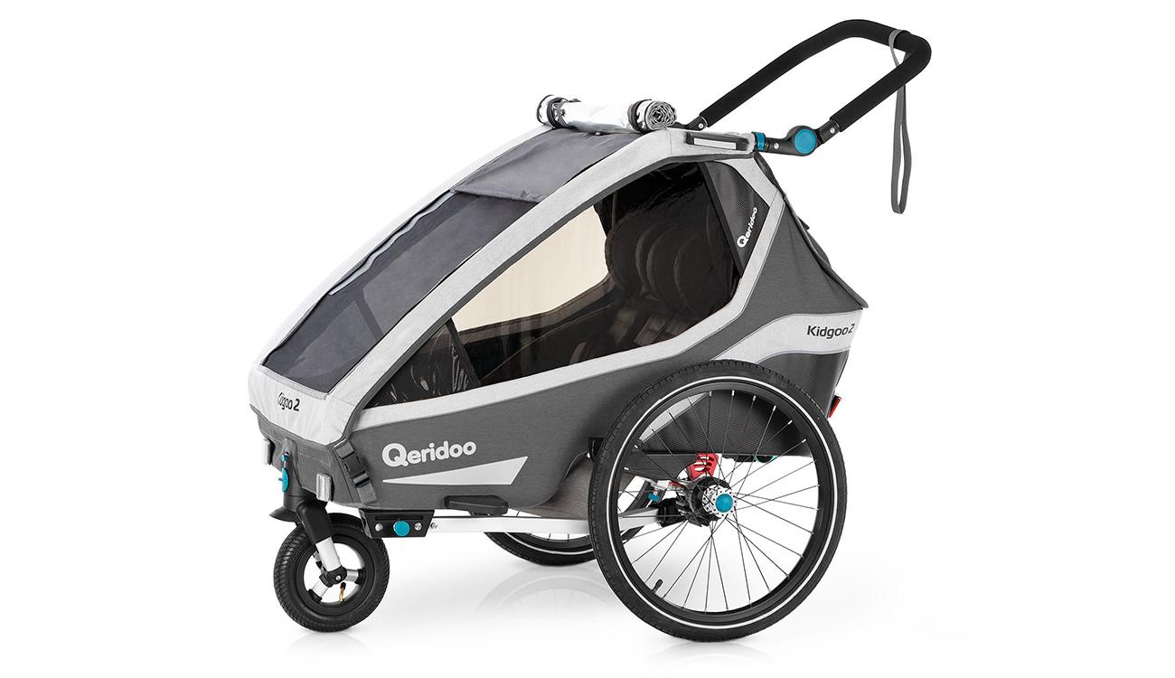Koło Buggy do przyczepki rowerowej Qeridoo Kidgoo2 2020 Grey